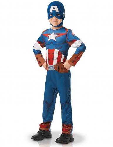 Klassiek Captain America animatieserie pak voor jongens