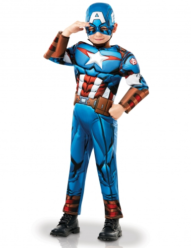 Luxe Captain America™ animatieserie pak voor jongens-2