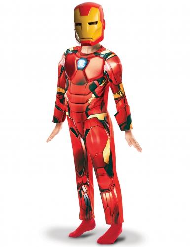 Luxe Iron Man™ animatie serie kostuum voor jongens