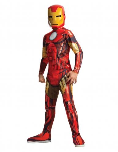 Klassiek Iron Man™ animatieserie kostuum voor jongens
