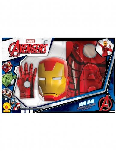 Klassiek Iron Man™ jongenskostuum in cadeauverpakking-1
