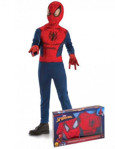 Klassiek Spiderman™ jongenskostuum in cadeauverpakking