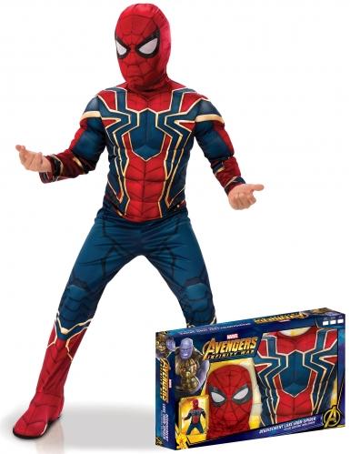 Luxe Iron Spider™ kostuum voor jongens in cadeauverpakking