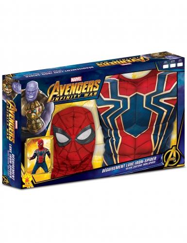 Luxe Iron Spider™ kostuum voor jongens in cadeauverpakking-1