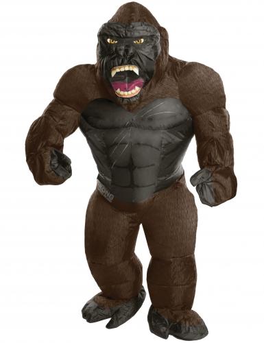 Opblaasbaar aap King Kong™ kostuum volwassenen