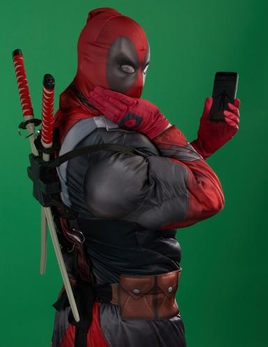 Luxe Deadpool 2™ kostuum voor volwassenen-2