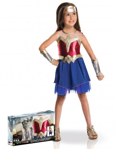 Luxe Wonder Woman™ kostuum voor meisjes