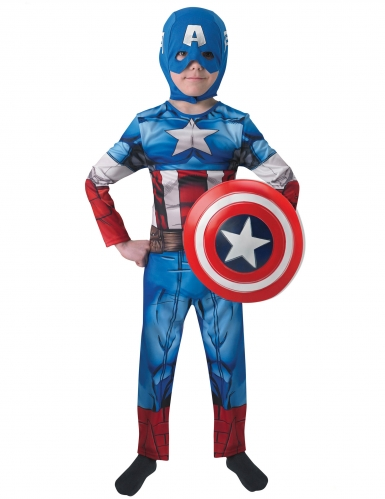Captain America™ kostuum met schild voor kinderen-1