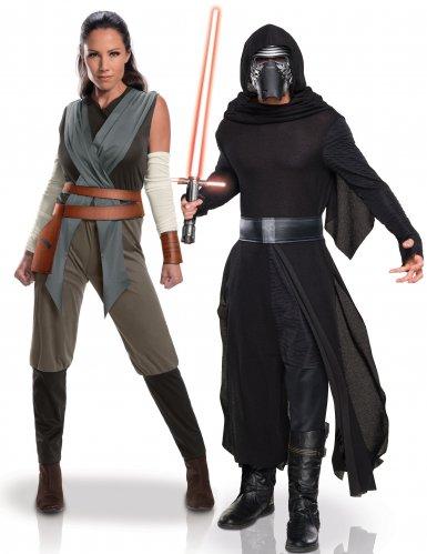 Koppelkostuum Rey en Kylo Ren Star Wars™