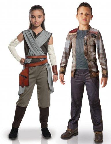 Koppelkostuum voor kinderen Rey en Finn Star Wars™