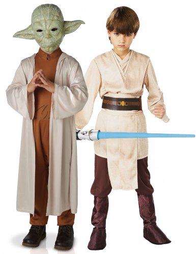 Koppelkostuum voor kinderen Yoda™ en Jedi™