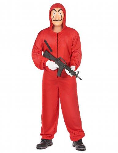 Rood overvaller pak voor volwassenen