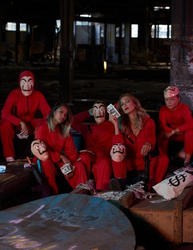 Rood overvaller pak voor volwassenen-6