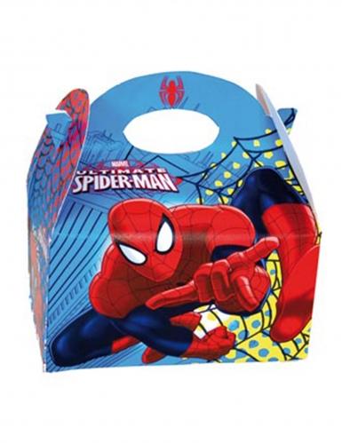 4 kartonnen Spiderman™ borden