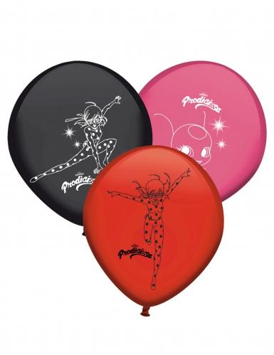 8 latex Ladybug™ ballonnen