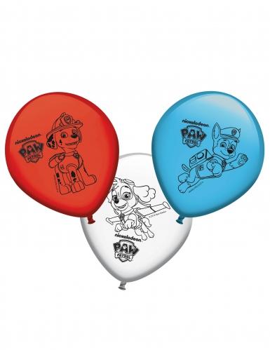 8 Paw Patrol™ ballonnen