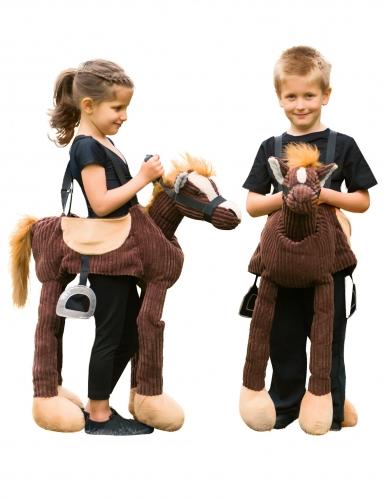 Pony carry me kostuum voor kinderen