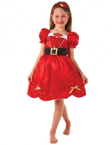 Rood Miss kerst kostuum voor meisjes