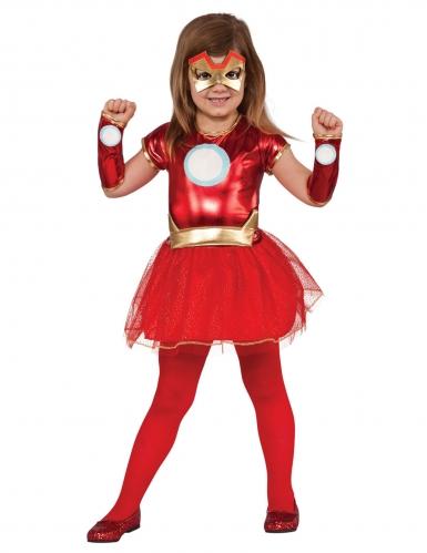 Avengers™ Iron Lady™ kostuum voor meisjes