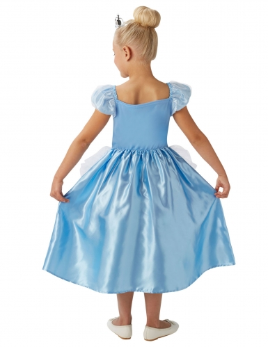 Prinses Assepoester™ kostuum met kroon voor meisjes-2