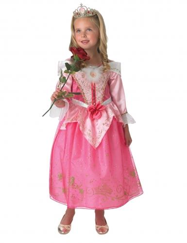 Aurora™ kostuum met kroon voor meisjes