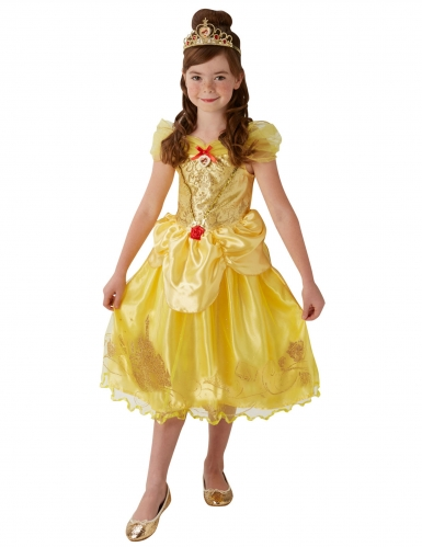 Belle™ prinses kostuum met tiara voor meisjes