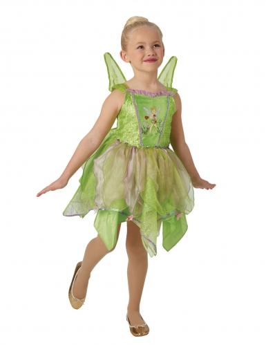 Luxe Tinkelbel™ kostuum met lichtgevende vleugels voor meisjes