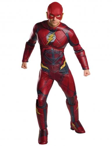 Deluxe Justice League™ Flash kostuum voor volwassenen