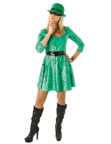 Klassiek The Riddler™ kostuum voor vrouwen