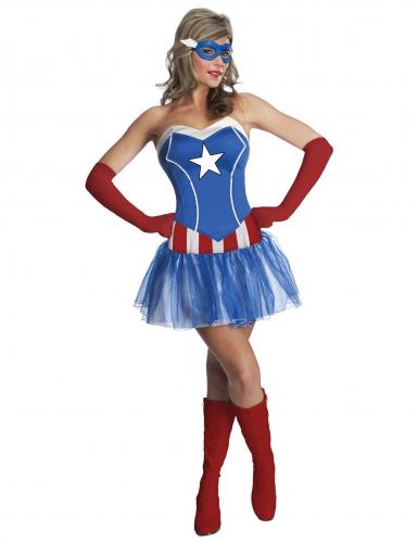 Miss America™ kostuum voor vrouwen