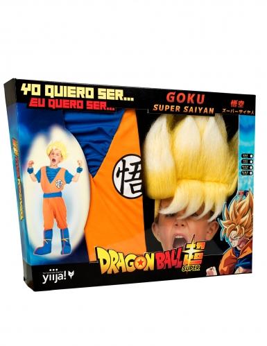 Super Saiyan Goku Dragon Ball Z™ kostuum voor jongens-3