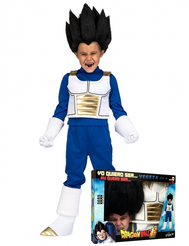 Vegeta Dragon Ball™ kostuum voor jongens in cadeauverpakking