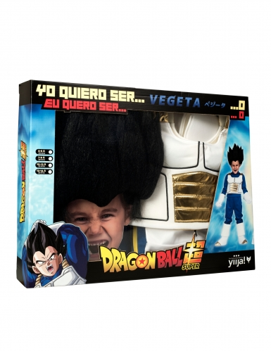 Vegeta Dragon Ball™ kostuum voor jongens in cadeauverpakking-3