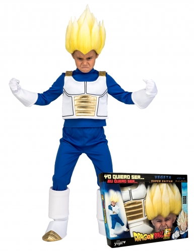 Super Saiyan Vegeta Dragon Ball™ kostuum voor jongens