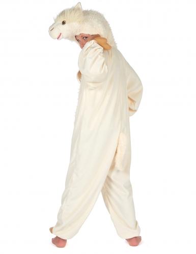 Beige lama kostuum voor kinderen-5