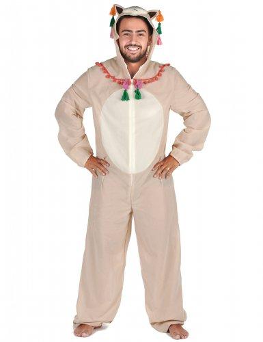 Grappig lama pak voor volwassenen