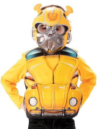Flip and reveal Transformers™ Bumble Bee borststuk voor kinderen-1