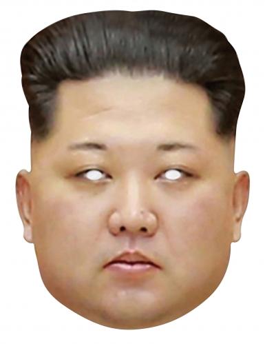 Kartonnen Kim Jong Un masker