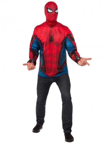 Spiderman Homecoming™ t-shirt en masker voor volwassenen