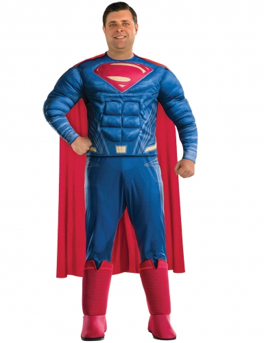 Superman Justice League™ kostuum voor volwassenen - Plus Size