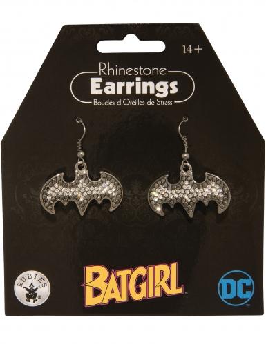 Batgirl™ oorbellen met strass