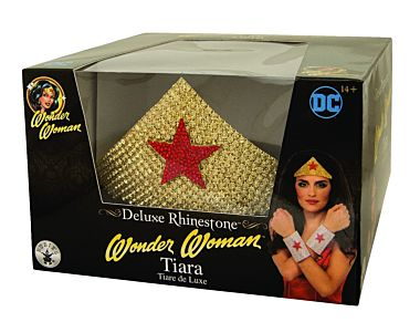 Deluxe Wonder Woman™ tiara met strass