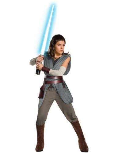 Super deluxe Rey Star Wars™ kostuum voor volwassenen