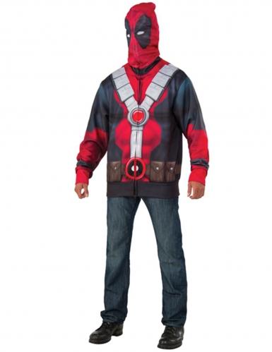 Deadpool™ vest met muts voor volwassenen