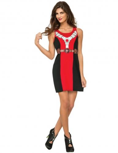 Mouwloze Deadpool™ jurk voor vrouwen