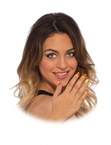 Neppe Iron Man™ nagels voor vrouwen