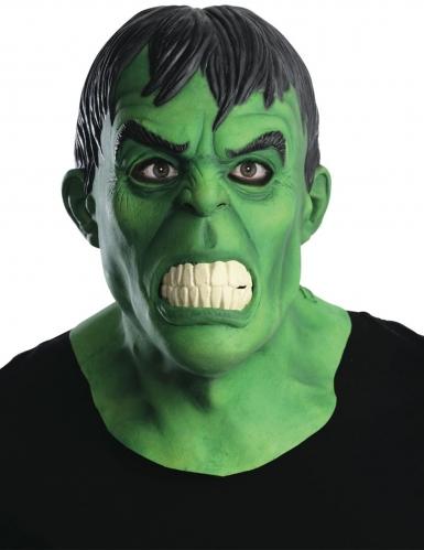 Latex deluxe Hulk™ masker voor volwassenen