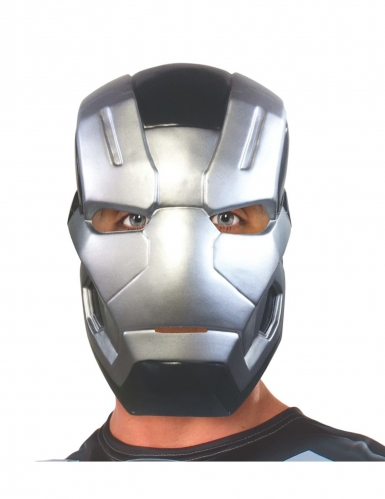 Captain America Civil War™ War Machine half masker voor volwassenen