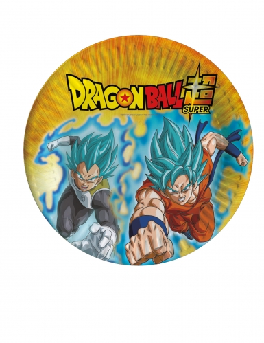 8 kartonnen Dragon Ball Super™ bordjes