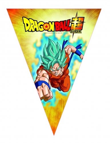 Papieren Dragon Ball Super™ vlaggenslinger
